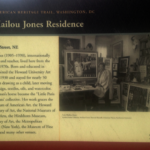 Home of Lois Mailou Jones, famous artist