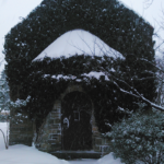 The Franciscan Monastery in snow