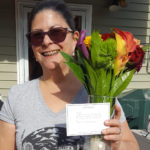 The Menkiti Group sent Theresa Fleming flowers to say thanks for the Great Brookland Yard Sale