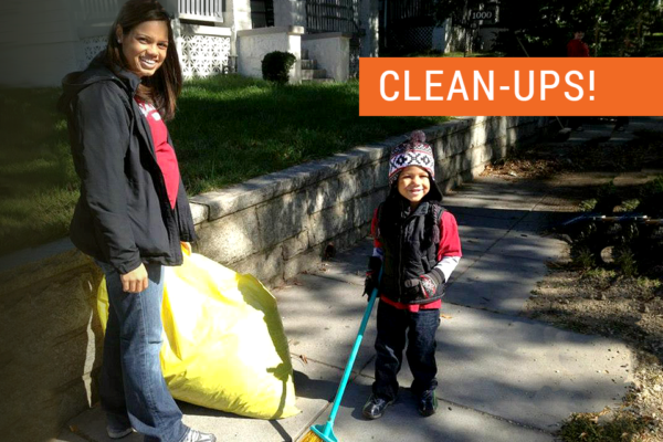 Two clean-up events
